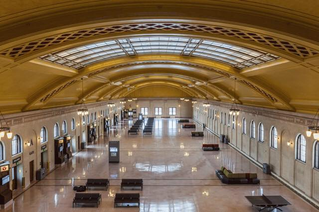 The Union Depot in downtown St. Paul as it appears today.