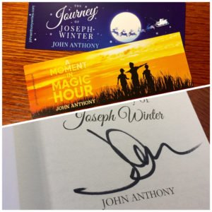 John Anthony, author of middle grade, YA and family fiction