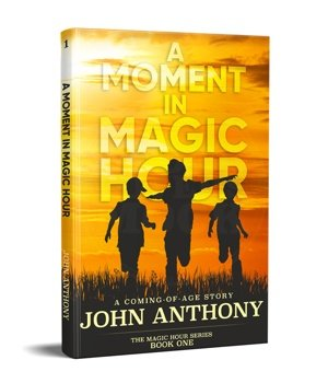Cover image of A Moment in Magic Hour: A Coming-of-Age Story